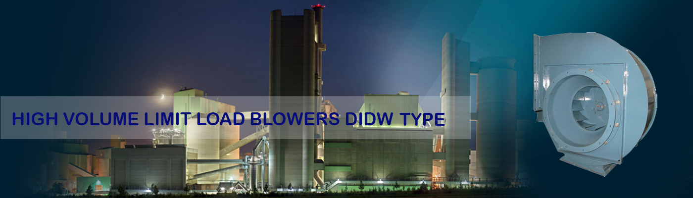 High Volume Limit Load Blowers DIDW Type